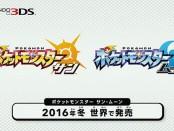Pokemon 20 周年,推出全新作品:Pokemon Sun 及 Pokemon Moon